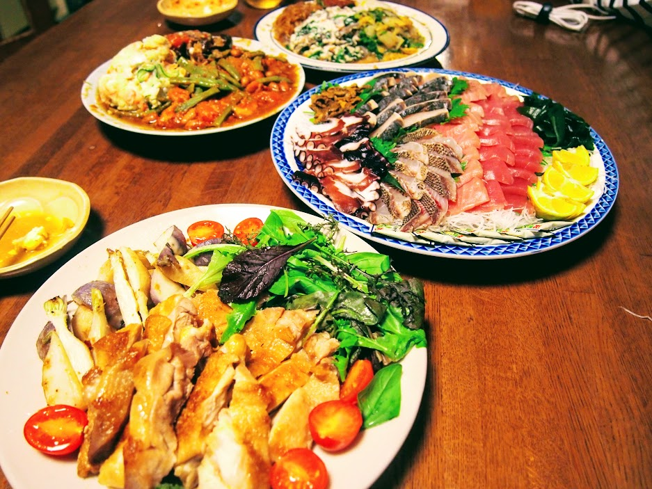 BANKARAの夕食