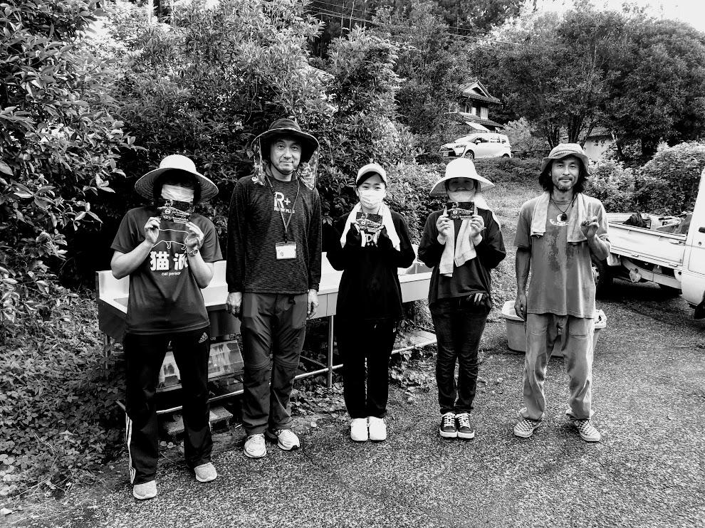 藍収穫の毎日。徳島大学の皆さんが来てくれました。
